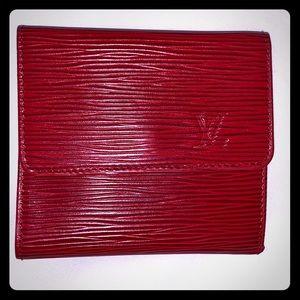 Vintage 🌹NWOT🌹Louis Vuitton Epi Compact Wallet